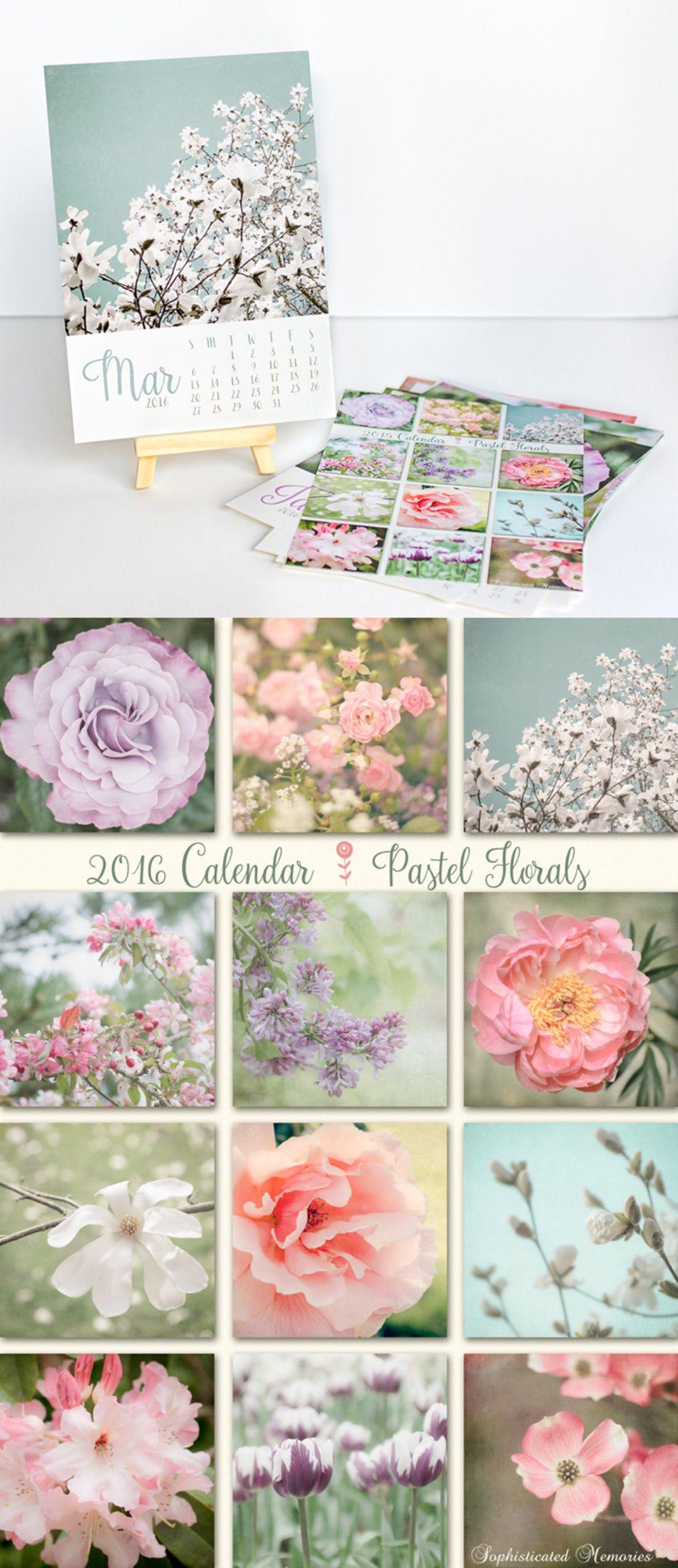 Mini Easel Calendar Gift for Her Stocking Stuffer