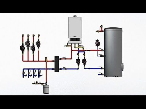 Application And Piping Strategies For Viessmann Condensing Boilers Mechanical Engineering Design Mechanical Design Painted Radiator