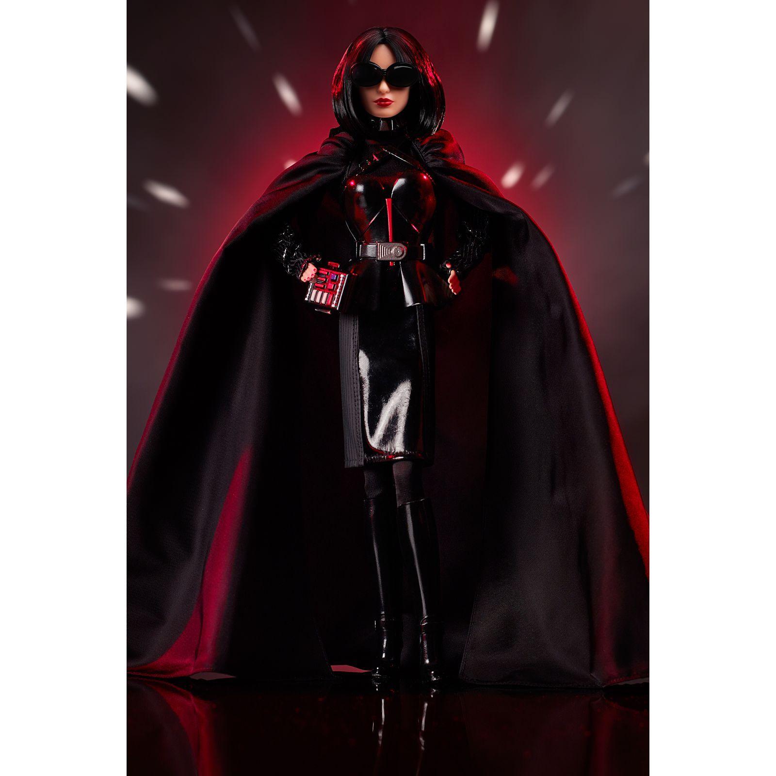 Barbie as Darth Vader Star Wars x Doll GHT80 Mattel 2019 NRFB