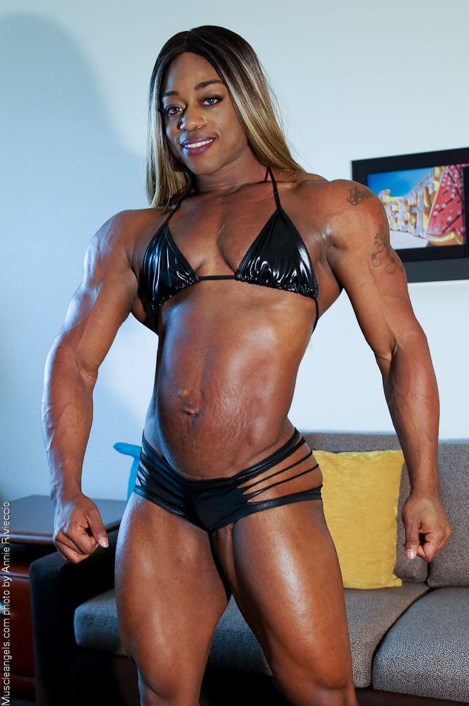 Black ebony muscle