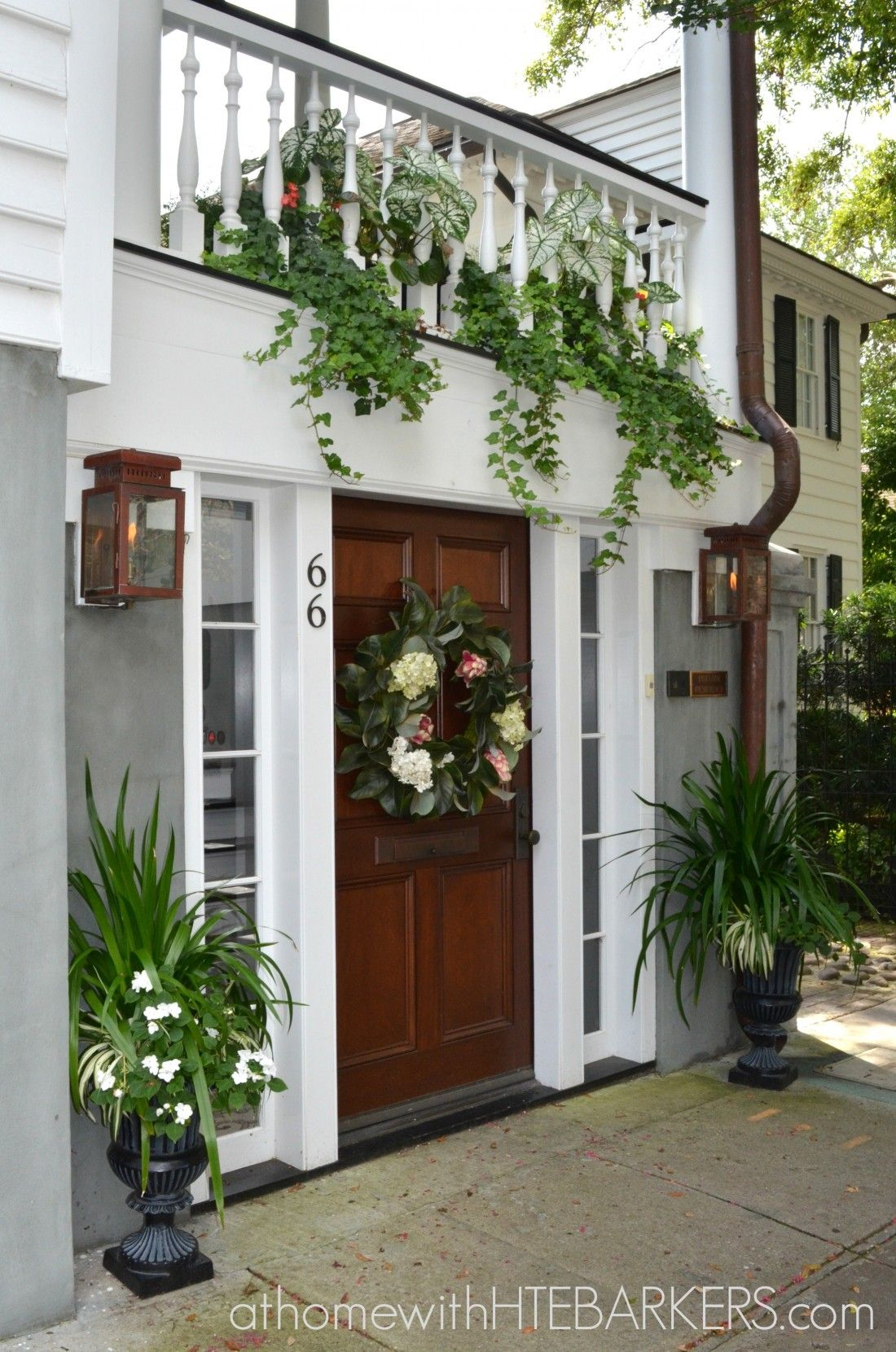 Gorgeous Curb Appeal from home in Charleston SC - I thought was so beautiful…