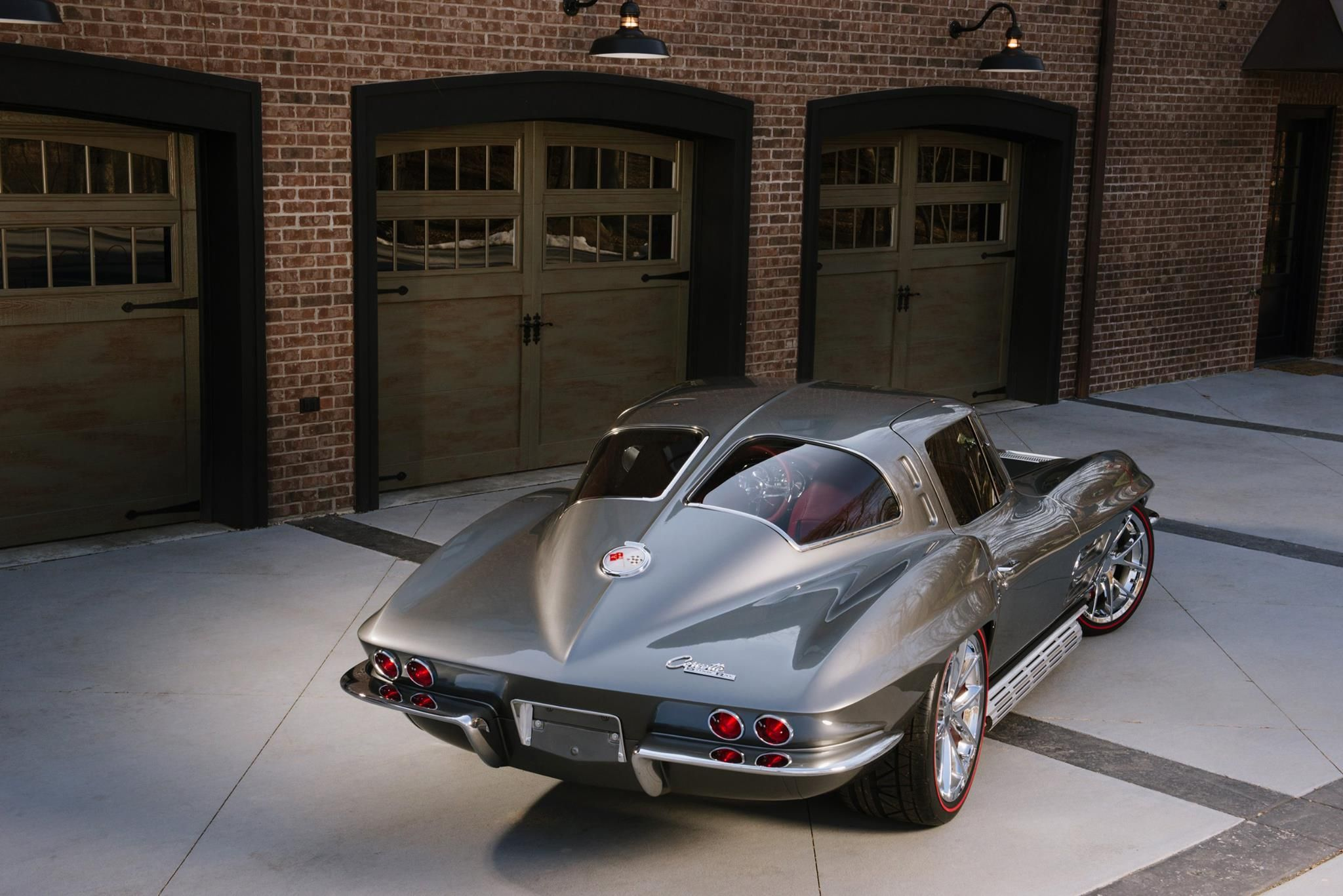 I want this ls3 powered 39 63 split window restomod tcg for 1967 corvette stingray split window