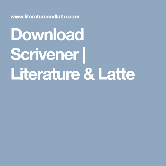 literature and latte download