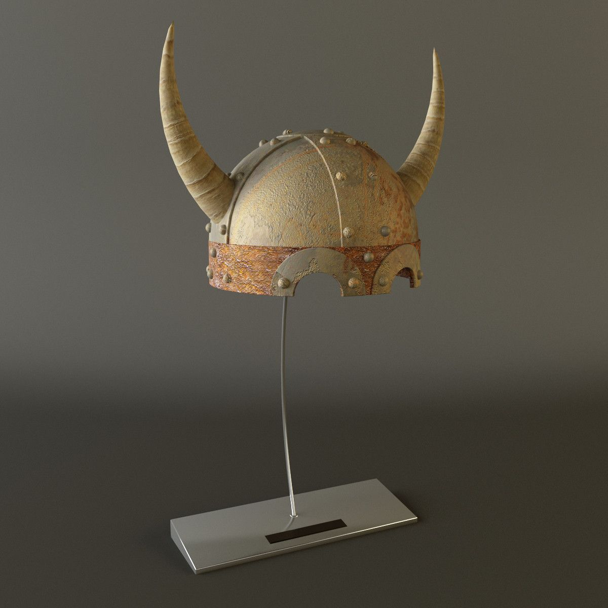 Viking Helmet 3d Max Clothing Artifacts