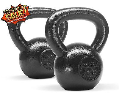 Kettlebell olympic weight choice black
