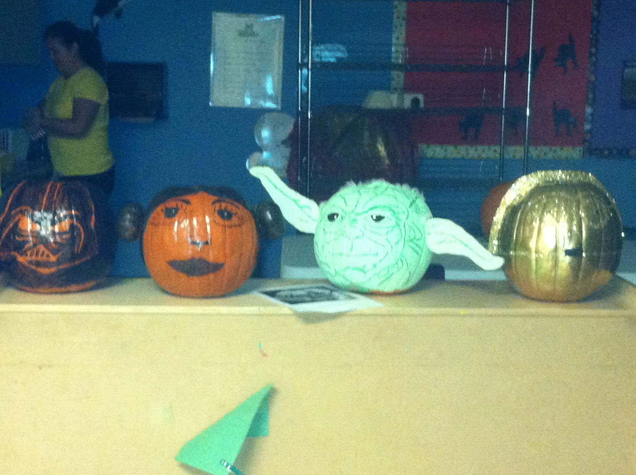 Character Pumpkins Pumpkin Contest For School Book Pinterest And
