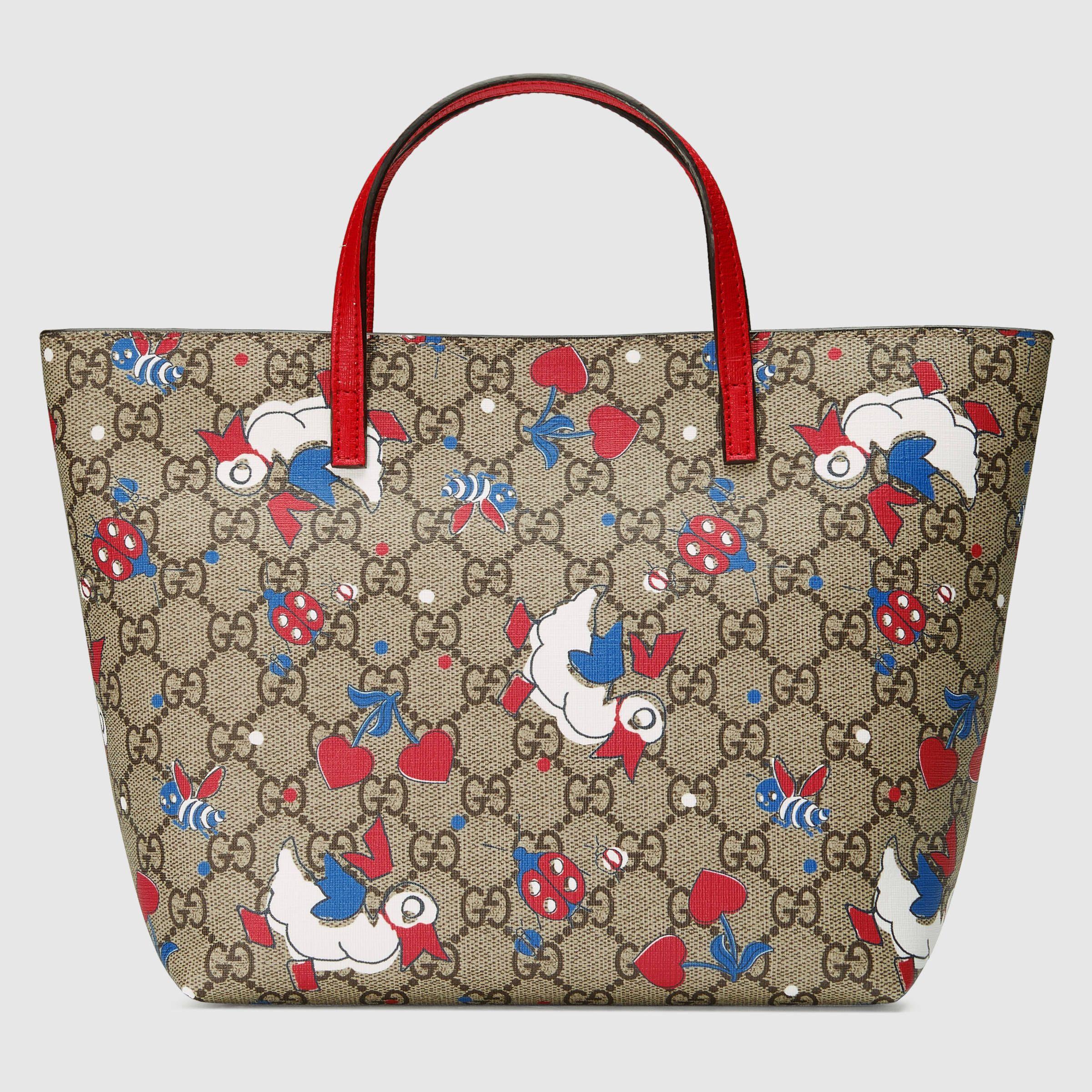 a147ace879 Children's GG ducks tote - Gucci Children's Gifts 410812K9E2N9290 ...