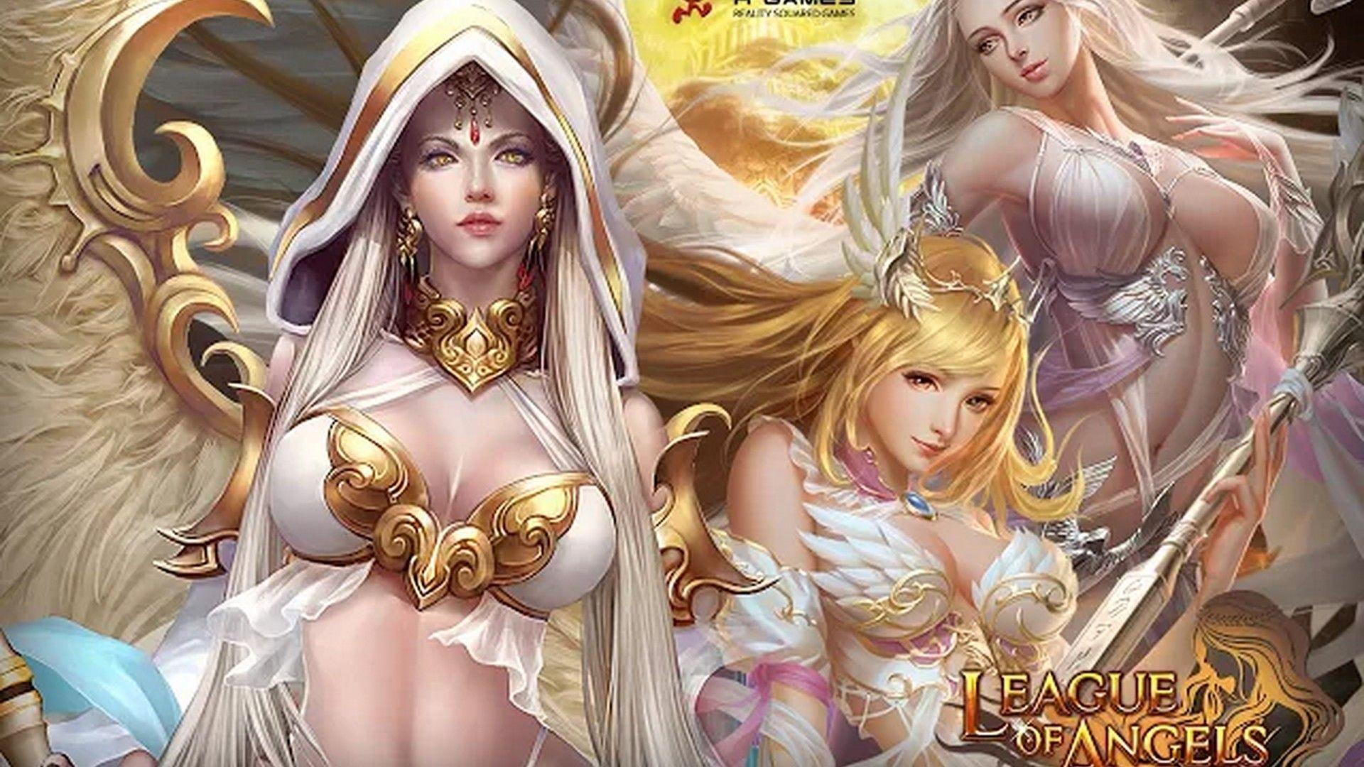 League Angels Fantasy Games Hd Wallpaper Wallpapers