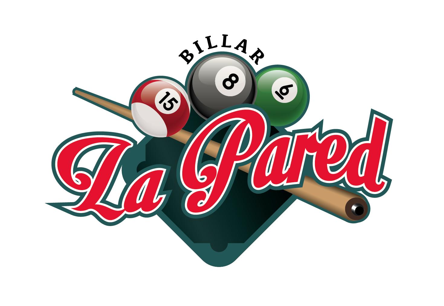 Billar La Pared Logos en 2019 Billares, Diseño de