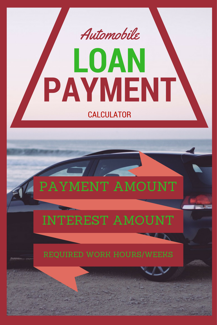 Automobile Loan Payment Calculator With Amortization Schedule