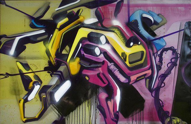 cmyk graffiti