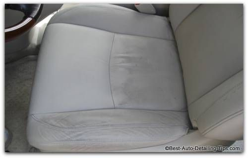 Learn Why You Are Frustrated Cleaning Leather Car Seats