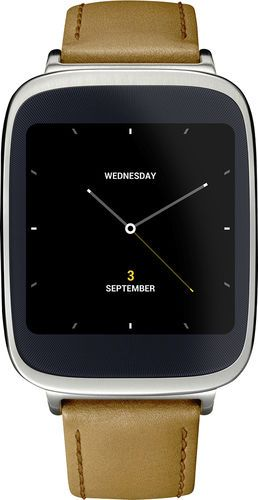 Asus - Smartwatch for Select Devices - Silver/Rose Gold/Brown #asus #tech See detail at http://zingxoom.com/d/cwHHJ8bc