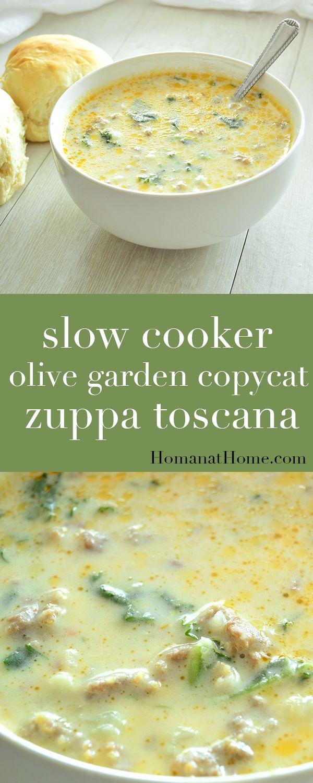 Slow Cooker Olive Garden Copycat Zuppa Toscana Recipe