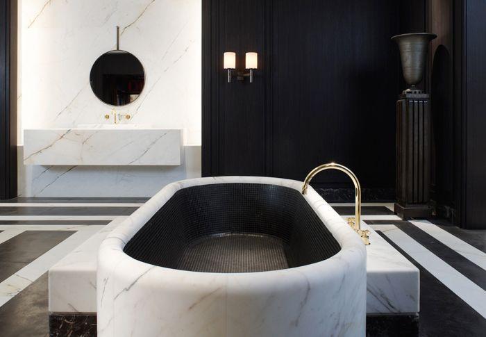 Design the french minimalist bath badkamers