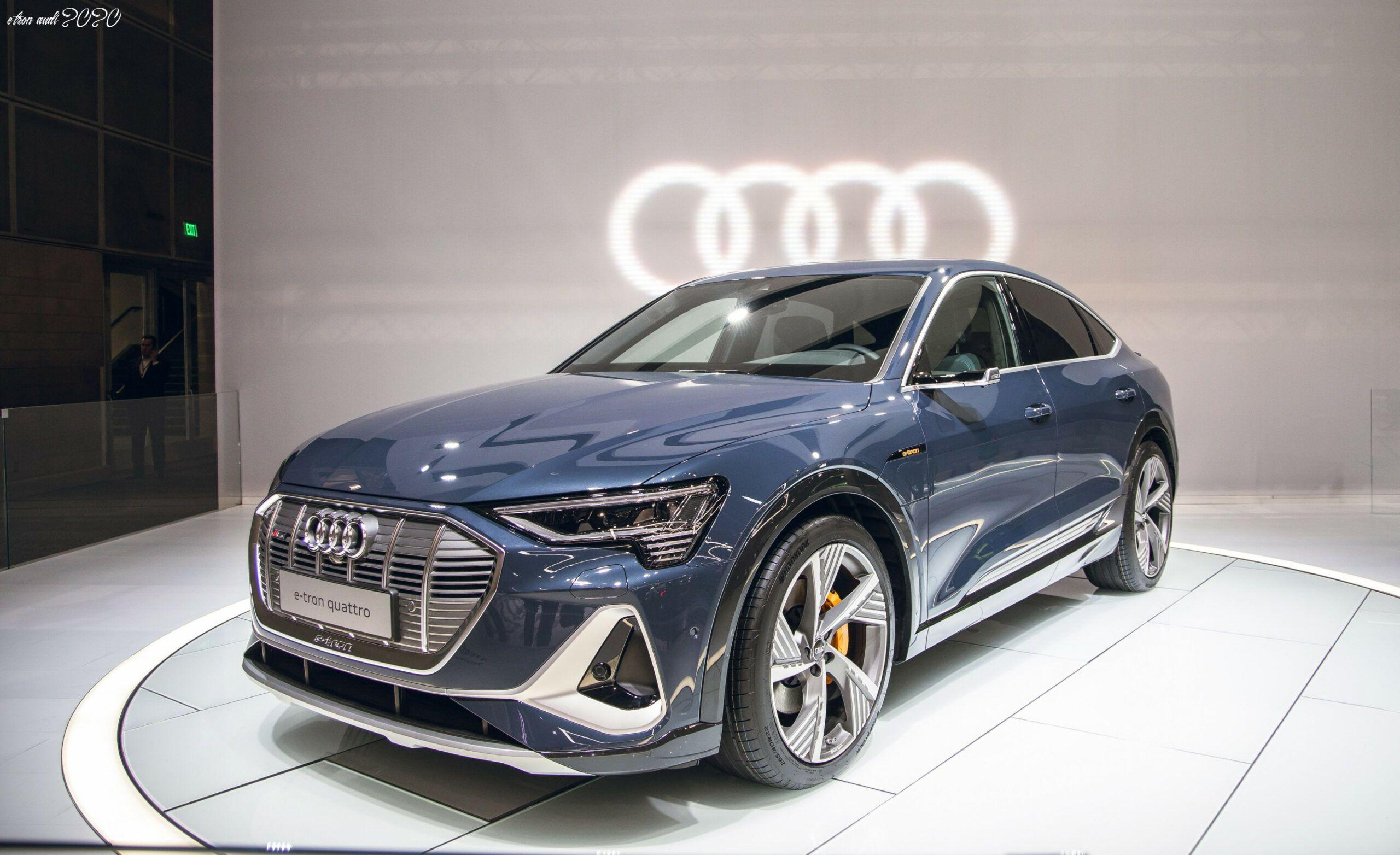 E Tron Audi 2020 in 2020 Audi etron, Audi, Etron