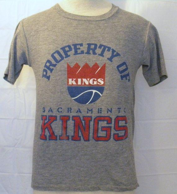 Vintage Super Soft 80s SACRAMENTO KINGS