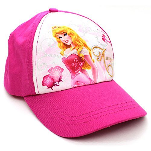 fe6d219eacb Disney Princess Girls Baseball Cap Hat (Aurora Pink) Disney http   www