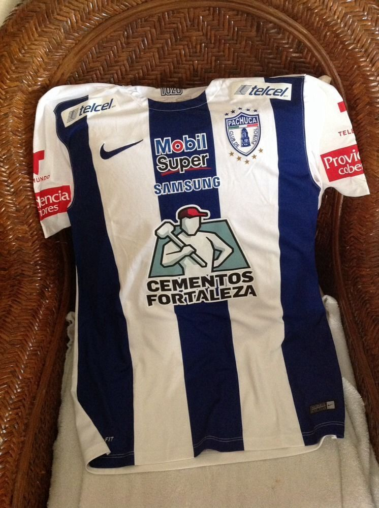 Nike club pachuca tuzos liga MX mexico soccer jersey new with tags size M  mens in