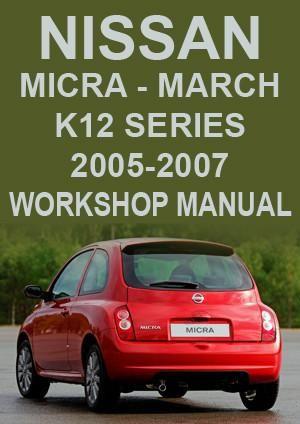 nissan micra k12 2003 2006 repair manual