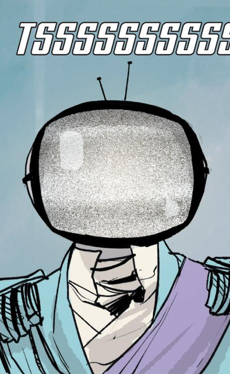 SAGA Prince Robot Pin