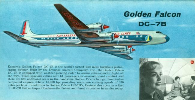 Eastern Airlines Airlines History, Sales Brochures and Memorabilia from 1936 to the 1959 inflight guides, and the Eastern Boeing 757 launch brochure. http://1502983.talkfusion.com/product/