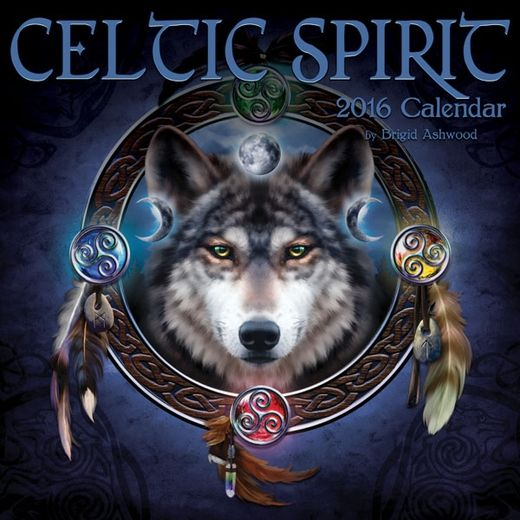 2016 Celtic Calendar by Brigid Ashwood - $16.99 - Keep track of important dates, appointments, projects and the like with this fantastic calendar! Full of magic and beautiful art, it's both a striking addition to decor, and a practical one!