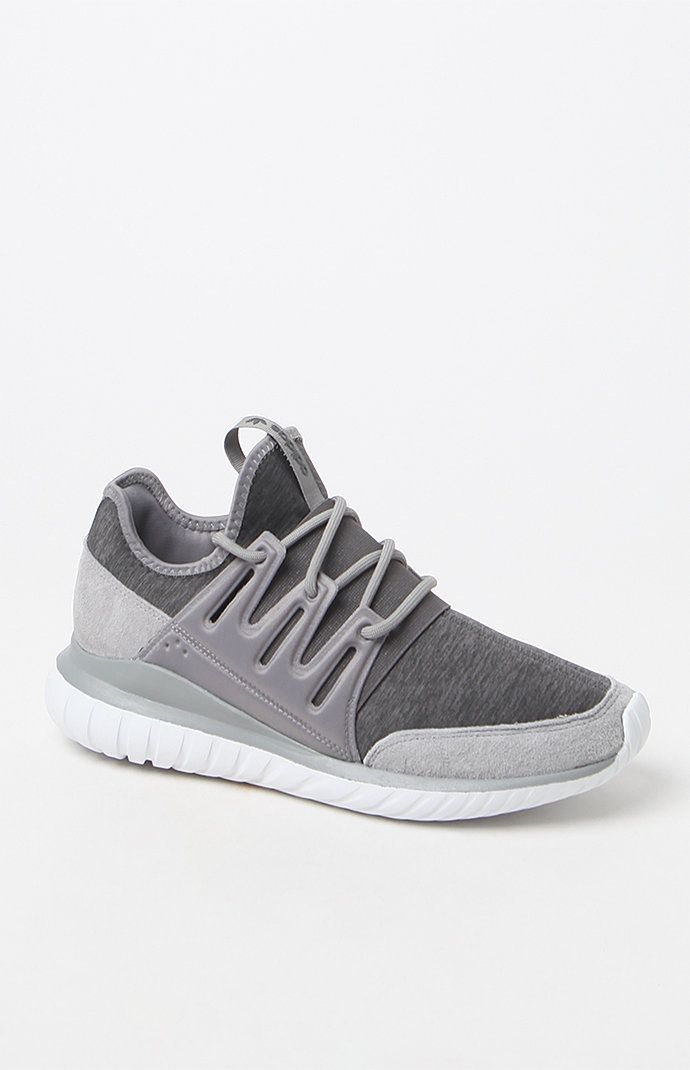 140e0b6e8476 adidas Tubular Radial Grey Shoes at PacSun.com