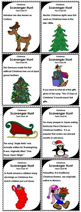 try this christmas scavenger hunt game with your class holidays super teacher worksheets. Black Bedroom Furniture Sets. Home Design Ideas