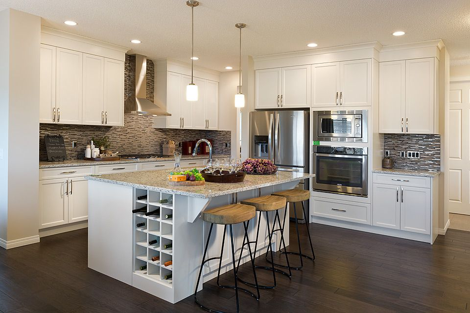 Wine And Cheese Anyone This Is Definitely A Dream Kitchen Model
