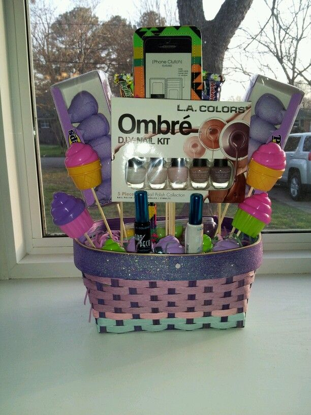 Custom made easter basket for a teenager my creative side custom made easter basket for a teenager negle Gallery