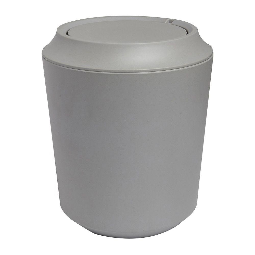 Discover The Umbra Fiboo Waste Bin Gray At Amara Bathroom Trash Can Bathroom Accessories Design Bathroom Waste Bins