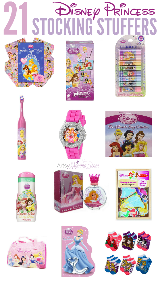 21 Must Have Disney Princess Stocking Stuffers