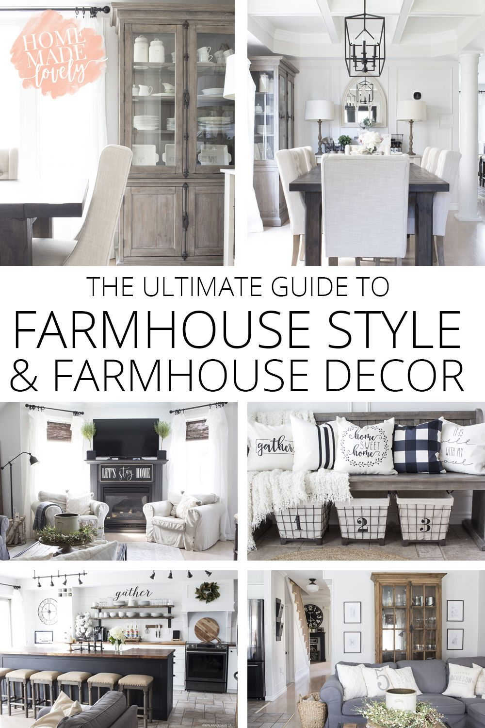 What Is Farmhouse Style The Ultimate Guide To Farmhouse Style Farmhouse Decor Home Decor Styles Farmhouse Style Decorating Country House Decor