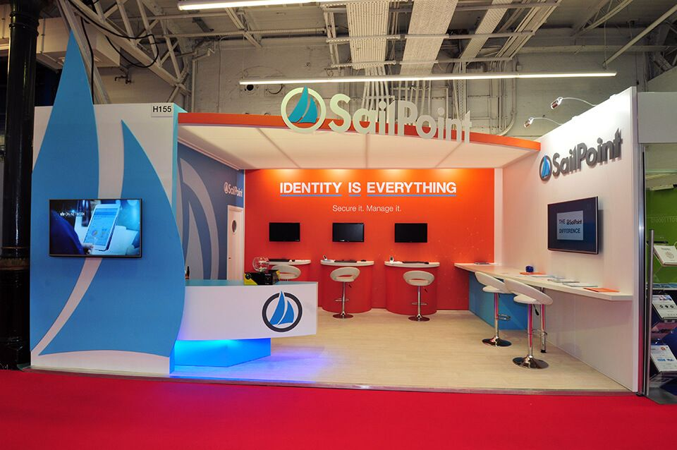 Exhibition Stand Europe : Sailpoint exhibition stand at infosecurity europe exhibition