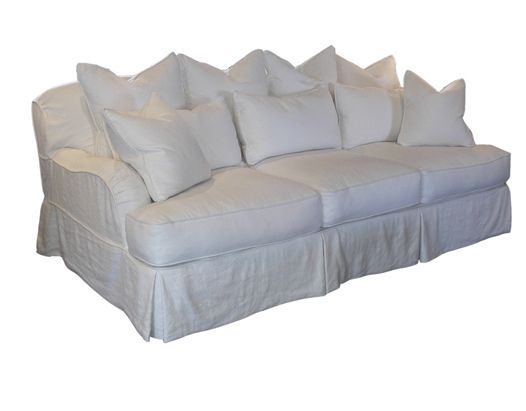 dino mark anthony sofa-extra deep & lots of cushions-slipcover