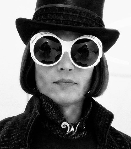 Johnny Depp as Willy Wonka, Charlie and the Chocolate Factory (2005)