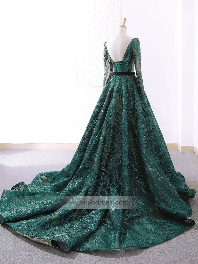 Vintage Emerald Green Lace Prom Dresses With Sleeves Fd1093 Prom Dresses With Sleeves Prom Dresses Lace Navy Blue Lace Prom Dress [ 1024 x 768 Pixel ]
