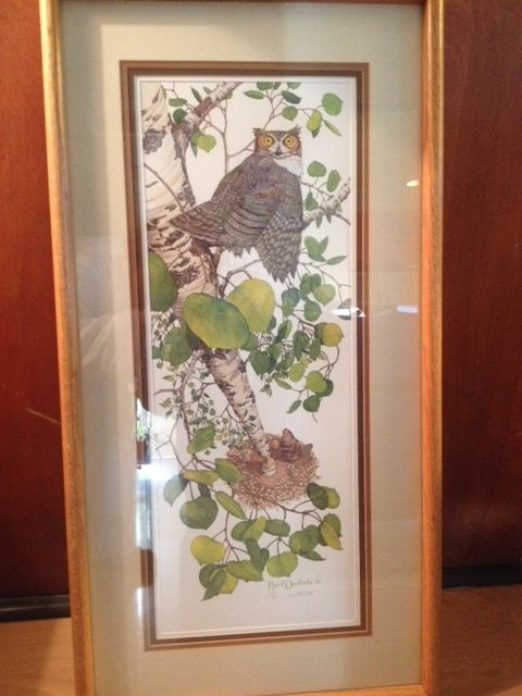Truly a valuable addition to any art collection. This limited edition, personally signed, beautiful scene by Bev Doolittle will add magic and whimsy to any wall of your home. Thank you Sybil Wilkinson for this inspired contribution.