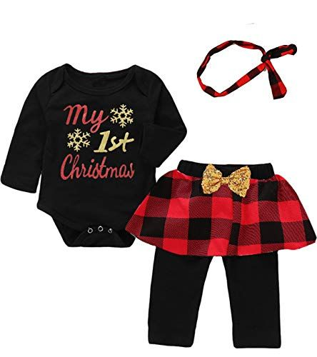 10 Cute First Christmas Outfits for Newborn Baby Girls Amazon Baby
