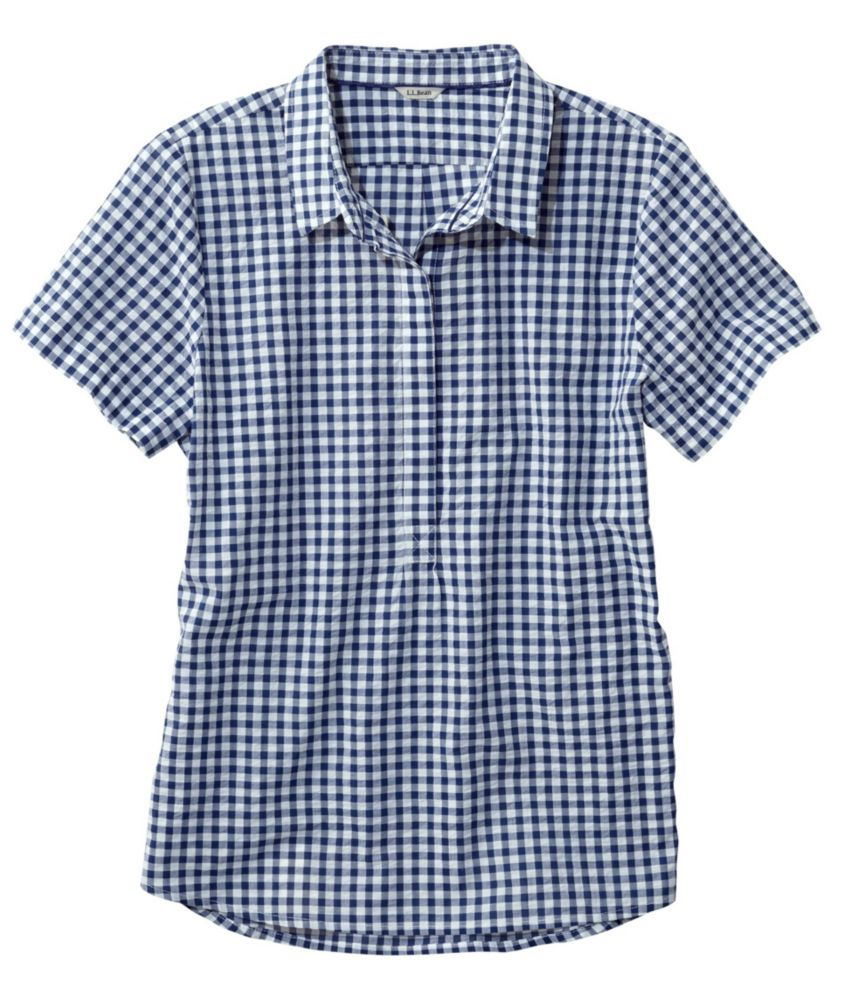 4295ef2cfb308 Textured Cotton Popover Shirt in 2019