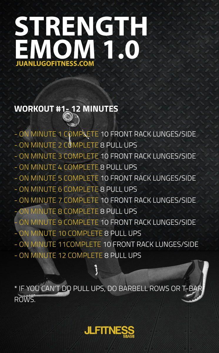EMOM Workout Emom workout, Kettlebell training