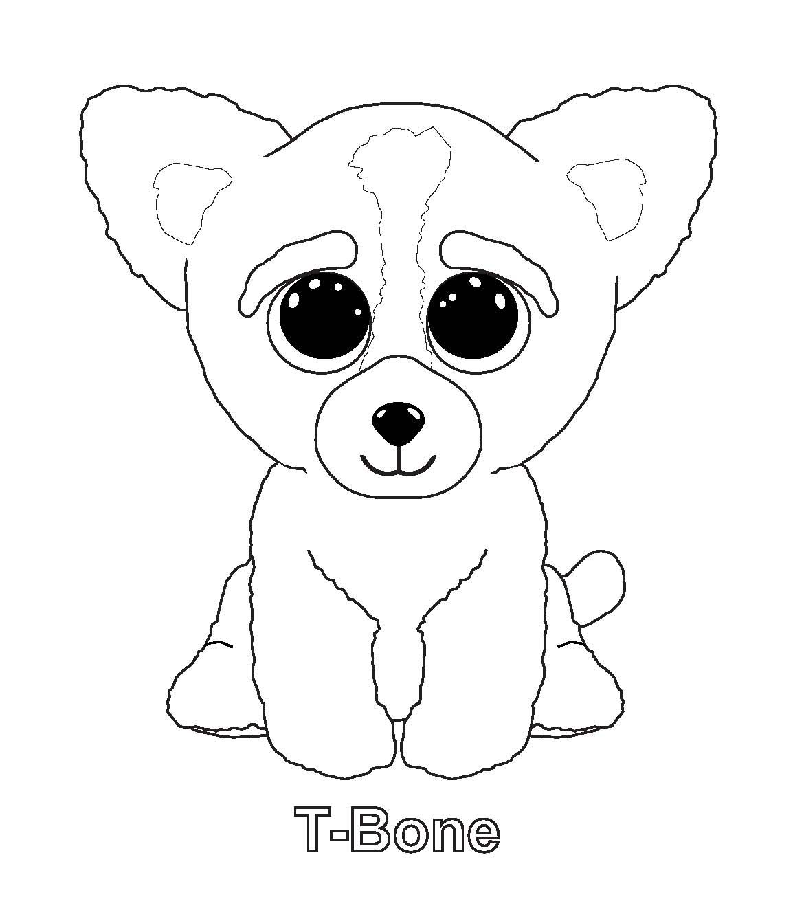Ty Art Gallery Pictures Of Beanie Boos Dog Coloring Page Beanie Boo Birthdays