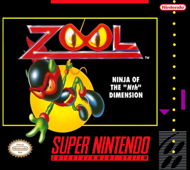 Zool Ninja Of The Nth Dimension Snes In 2021 Super Nintendo Nintendo Super Nintendo Games