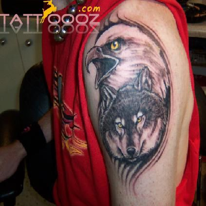 Visit Http Tattoooz Com Eagle Tattoo Tribal Eagle Tattoo Designs Pictures Ideas With Images Native American Tattoos Faith Tattoo Designs Wolf Tattoo Design