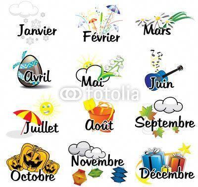 FRANÇARBOLEJA SEXTO: LES MOIS DE L'ANNÉE #apprendreanglaismaternelle   French expressions, Mois ...