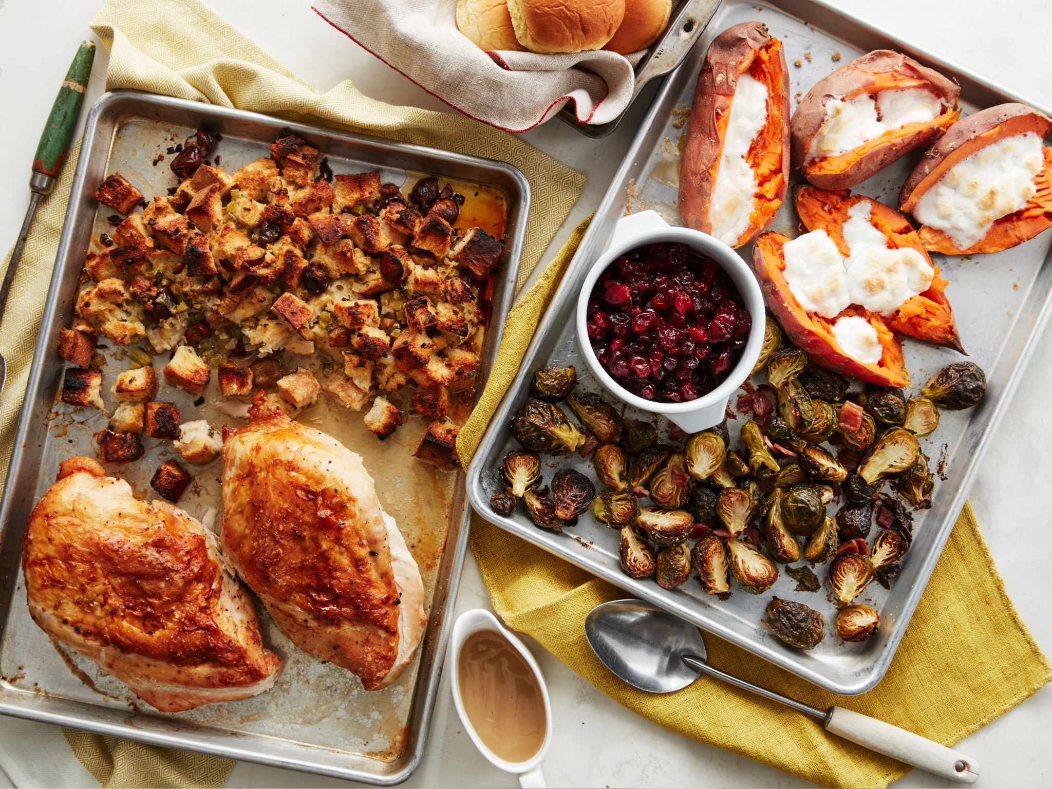 Easiest ever thanksgiving recipes food network sheet pan easiest ever thanksgiving recipes food network forumfinder Choice Image