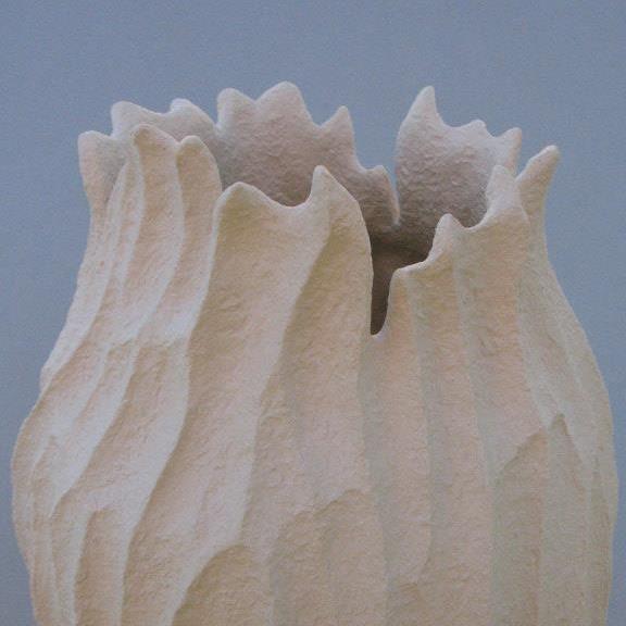 Elizabeth Shriver, Coral Vase (detail)