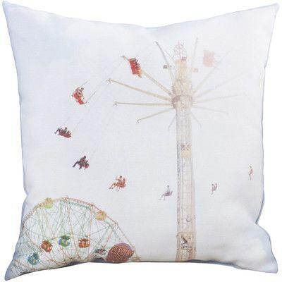 Mercury Row Mina Teslaru Summer Rides Throw Pillow