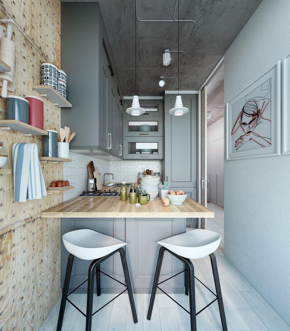 Minimalist Design Is The Best Design For Kitchen You Can Apply Scandinav Small Kitchen Design Apartment Interior Design Kitchen Apartment Kitchen Ideas Design